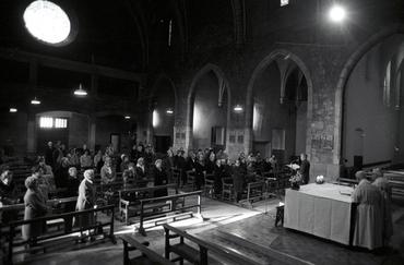 Imatges del reportatge 786214 - Missa en honor de Sant Francesc de Sales a Girona