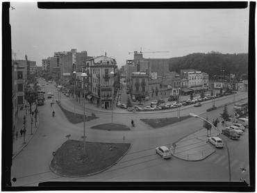 Imatge 1079895 - Encreuament de la Gran Via de Jaume I, el carrer Figuerola i l'avinguda de Ramon Folch de Girona