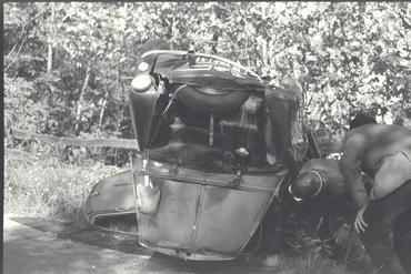 Imatges del reportatge 779465 - Accident de cotxe