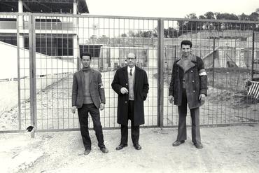 Imatges del reportatge 779366 - Partit de futbol al camp del Girona FC a Montilivi