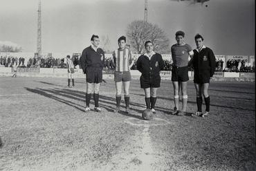 Imatges del reportatge 779367 - Partit de futbol a Figueres
