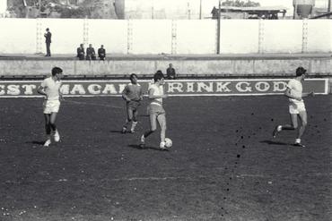 Imatges del reportatge 779205 - Partit de futbol al camp de Vista Alegre