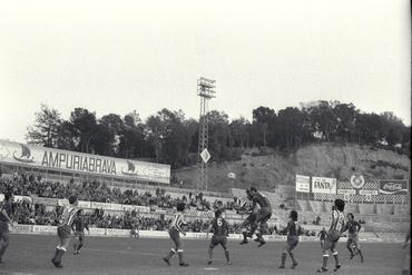 Imatges del reportatge 779408 - Partit de futbol a Montilivi