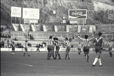 Imatges del reportatge 779220 - Partit de futbol entre el Girona FC i el Calella