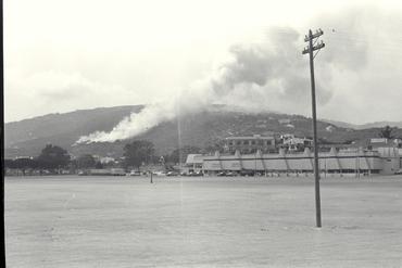 Imatges del reportatge 779514 - Incendi a Platja d'Aro