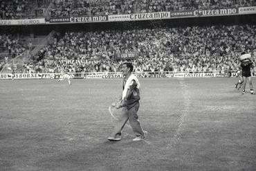 Imatges del reportatge 779617 - Partit de futbol entre el Sevilla i el Figueres
