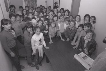 Imatges del reportatge 782815 - Visita escolar al Punt Diari