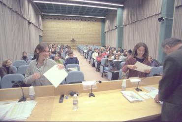 Imatges del reportatge 780885 - Entrega de diplomes universitaris a la UdG