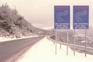 Imatges del reportatge 780891 - Primera nevada a la Collada de Toses
