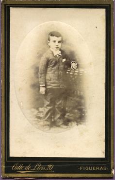 Imatge 47408 - Retrat d'un nen