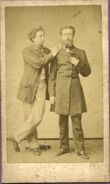 Imatge 47417 - Retrat de dos homes