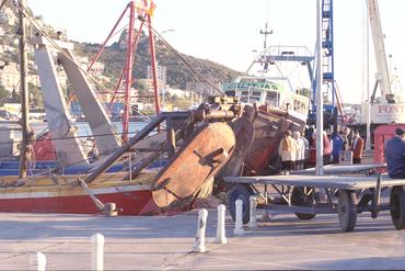 Imatges del reportatge 780988 - Pescadors de canya al port