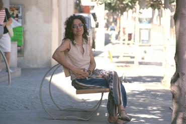 Imatges del reportatge 781014 - Harmonia Carmona, realitzadora i guionista de cinema