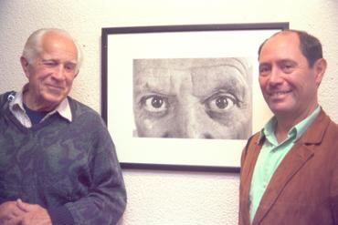 Imatges del reportatge 781068 - Claude Picasso i Douglas Duncan a Girona