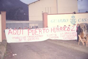 Imatges del reportatge 782569 - Tancada a la fàbrica Guarro-Casas