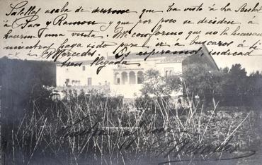 Imatge 51922 - Vista d'una masia
