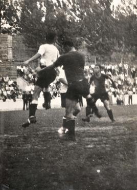 Imatge 51955 - Partit de futbol del Girona Futbol Club contra Granollers