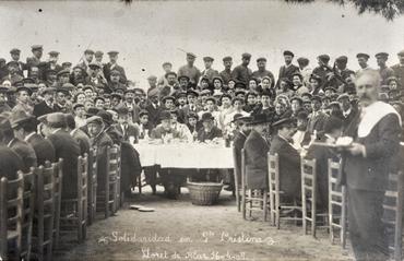Imatge 51962 - Retrat de grup de la Festa de la Solidaritat a Santa Cristina de Lloret de Mar