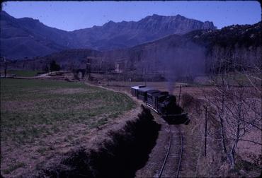 Imatges del reportatge 780627 - Recorregut del Tren d'Olot
