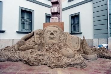 Imatges del reportatge 782309 - Escultura de Sorra