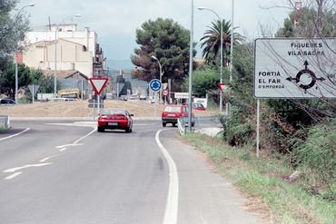 Imatges del reportatge 781364 - Nova rotonda a l'entrada de Vila-sacra