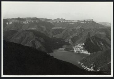 Imatge 53391 - Vista del riu Ter des de Susqueda