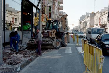 Imatges del reportatge 781466 - Reforma de la vorera a la Ctra. de Barcelona