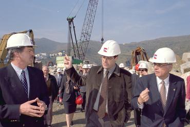 Imatges del reportatge 781520 - Pere Macias visitant les obres del Port