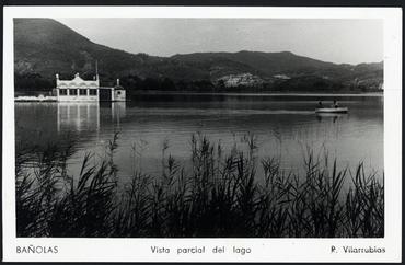 Imatge 54806 - Postal d'una vista parcial de l'estany de Banyoles