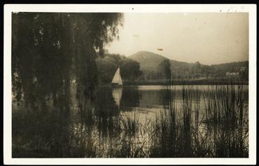 Imatge 54809 - Estany de Banyoles des del paratge dels Desmais