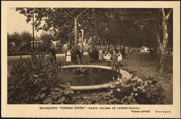 Imatges del reportatge 1122928 - Balenari Termes Orion de Santa Coloma de Farners