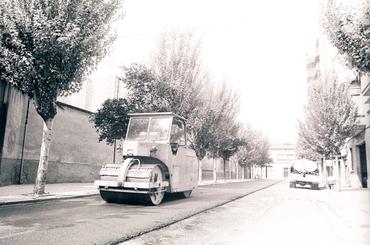 Imatges del reportatge 782748 - Obres d'arranjament de carrers de Girona