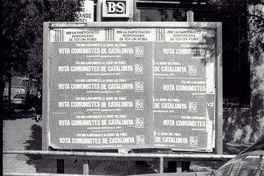 Imatges del reportatge 782635 - Cartells electorals de Comunistes de Catalunya