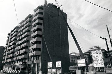Imatges del reportatge 777751 - Edifici en obres al carrer Emili Grahit