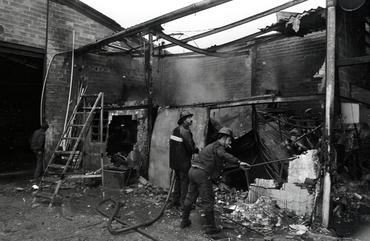 Imatges del reportatge 777704 - Restes d'un incendi